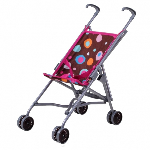 Puppenbuggy Sim brown splash knorrtoys Puppen Buggy