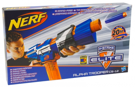 Nerf N-Strike Elite Blaster Alpha Trooper CS-12