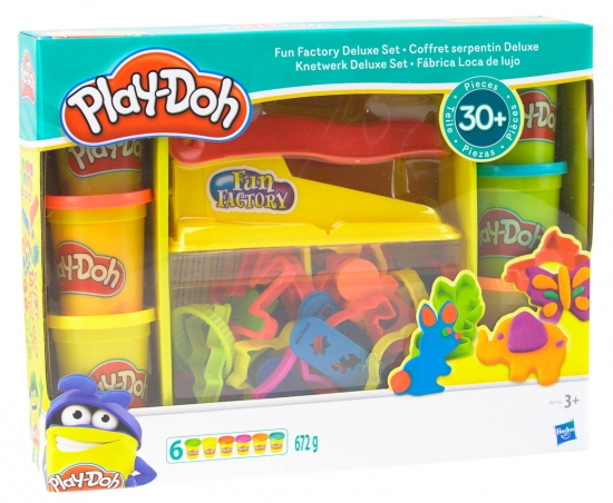 Play-Doh Knetwerk Fun Factory Deluxe Set
