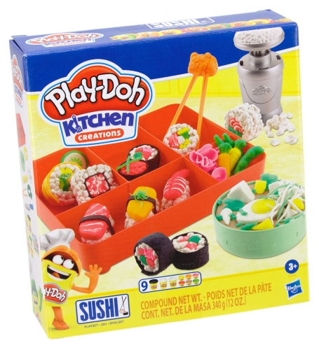 Play-Doh Kitchen Creations Sushi Knete Spielset