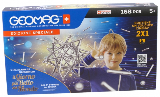 Geomag Classic Silber Set 168 teilig